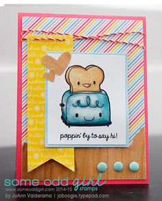 By Joann Valderama using Breakfast Friends from Some Odd Girl and products from ARC Crafts. #ARCCrafts #someoddgirl