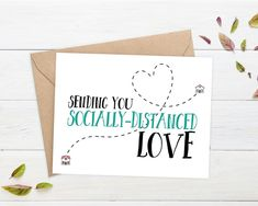 humor about social distancing \ humor about social distancing I Miss You Card, Miss You Gifts, Birthday Cards For Friends, Diy Cards For Friends, Birthday Wishes, Birthday Gifts, Jw Gifts, Mail Gifts, Best Friend Cards