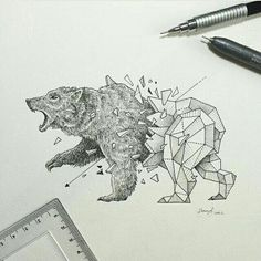 Geometric Beasts | Bear