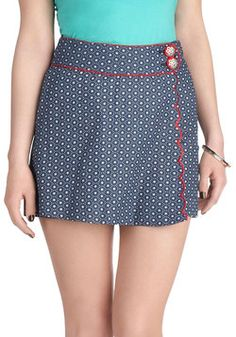 Just the Way You Star Skirt, #ModCloth