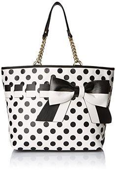 Betsey Johnson Gift Me Baby Tote Shoulder Bag, Cream, One Size Betsey Johnson http://www.amazon.com/dp/B00UDJ4P90/ref=cm_sw_r_pi_dp_DC8Yvb1RVACM4