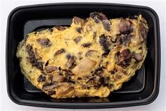 Frittata with Mushrooms, Garlic, Onions & Rosemary- healthy, gluten free, clean eats, crossfit, paleo, meal prep!