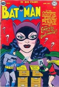 The other character find of 1940: The introduction proper of Catwoman!
