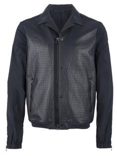 Lanvin buttoned jacket. Check out more baseball jackets http://www.wantering.com/mens-clothing/jackets/