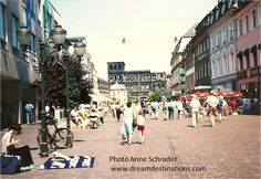 #Trier main market square.  Trier is the oldest town in #Germany.