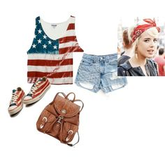 What a cute 4th of July outfit!
