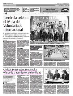 Clínicas EVA en el periódico Levante, 21/10/13