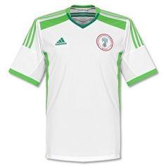 2014 World Cup Nigeria Away White Jersey Shirt Sports Shirts, Football Shirts, Uk Football, World Cup Kits, Jersey Shirt, T Shirt, White Jersey, Polo Ralph Lauren, Adidas