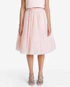 Embellished tutu skirt - Pale Pink | Skirts | Ted Baker SEU