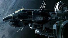 Prometheus the spaceship