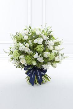 The Paper White Bouquet - Hayford and Rhodes award-winning florist