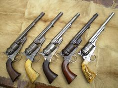 Conversions Photo by Weapons Guns, Guns And Ammo, Rifles, Black Powder Guns, Gun Holster, Holsters, Revolver Pistol, Lever Action, Cool Guns