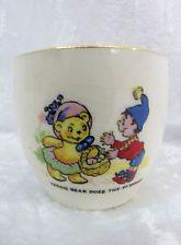"Egg Cup - Enid Blyton Noddy - ""Tessie Bear does the shopping"""