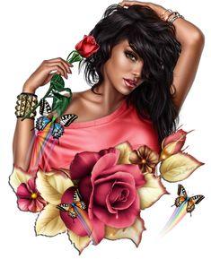 Sexy Fantasy Art Cartoon 48 Ideas For 2019 Black Girl Art, Black Women Art, Girl Cartoon, Cartoon Art, Cartoon Ideas, Images Pop Art, Girly Drawings, Digital Art Girl, Fantasy Girl