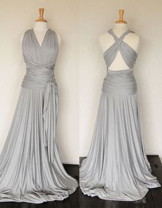 floor length infinity dress-gorgeous!!