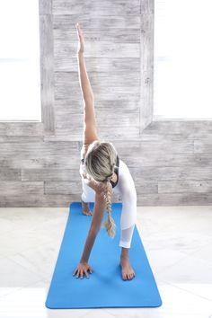 Premium Yoga Mat - Aqua www.kriyaveda.com @sessionswithstessie