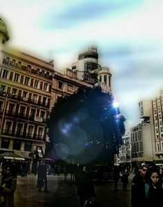 Plaza del Callao, Madrid.