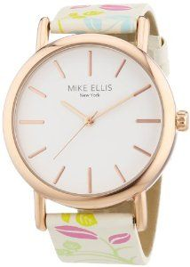 £27.50 (was £31.53) Mike Ellis New York Women's Quartz Watch with Faux Leather from Amazon UK