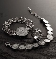 Lucky silver coins