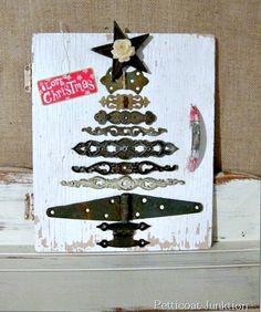 diy hardware Christmas Tree Petticoat JUnktion project