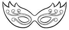 moldes de mascara de carnaval pra imprimir