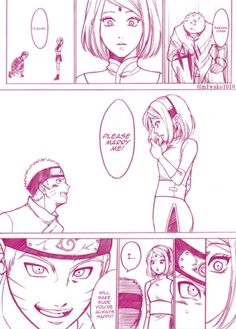 Narusaku the last parte 1 Boruto, Shikatema, Sasuhina, Narusaku, Sasunaru, Naruto Cute, Naruto And Sasuke, Naruto Uzumaki, Anime Naruto