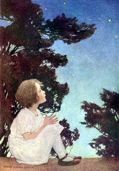 Jessie Willcox Smith.  It was delightful when I found out that the man I was engaged to (the son of a retired childrens librarian) had a complete set of My Bookhouse books set aside for his future children.  <3  <3  <3