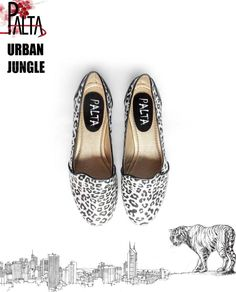 Slippers leopardo plateado