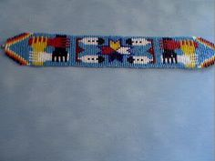 Native American Loom Beading Patterns | How to Use a Bead Loom: Directions for Beading on a Native