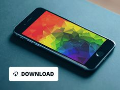 FREE 5 iPhone 6 / iPhone 6 Plus low poly / polygonal wallpapers