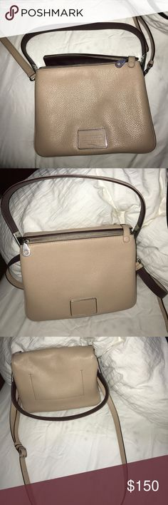 Marc Jacob handbag It's very clean and new I used it once only one scratch that is not noticeable and also in the picture so you can see Marc by Marc Jacobs Bags Shoulder Bags