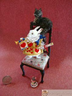 Bridget McCarty's Plush Pets 1:12: New Alice in Wonderland Items & Chihuahuas By Bridget McCarty