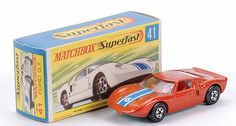 Matchbox Superfast MB41-c Ford GT40 racing car