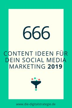 Content Ideen für Facebook, Twitter, Instagram und Co. Ideen für jeden Tag 2019 E-mail Marketing, Facebook Marketing, Content Marketing, Affiliate Marketing, Internet Marketing, Online Marketing, Social Media Marketing, Facebook Content, Social Media Content