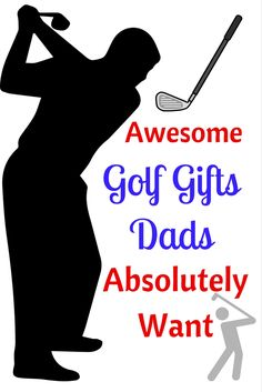 Find the coolest golf gifts for dad to enjoy at tee time, and even on his desk. Some are funny, some are adorable, and the others are super useful for all dads who love golf. Cool Gifts For Kids, Perfect Gift For Mom, Kids Gifts, Golf Gifts For Men, Perfect Golf, Inexpensive Birthday Gifts, Birthday Gifts For Teens, Trending Christmas Gifts, Best Christmas Gifts