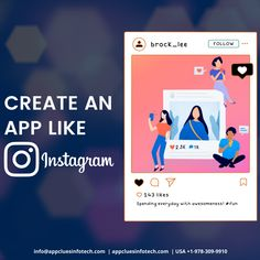 Create your own video & photo sharing clone app like Instagram for iPhone and Android with all the latest features, unique design, and easy to navigate UI that attracts more users.  #photoapp #photosharingapp #videosharing #videosharingapp #applikeinstagram #instagramapp #instagramapps #socialmediaapp #socialapp #chattingapp #sharingapp Iphone App Development, Mobile App Development Companies, Instagram Apps, Like Instagram, Quick Quotes, Free Quotes, Medium App, Companies In Usa, Mobile App Design