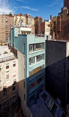 Matiz Architecture & Design (MAD) have expanded a five-story townhouse into a seven-story building serving NY Neurological Associates