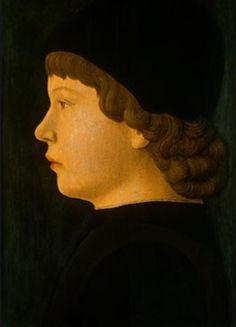 Profile Portrait of a Boy - Jacopo Bellini