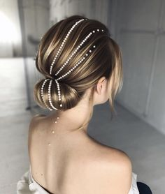 haar dutt Updo Inspiration for Winter Weddings amp; Romantic Hairstyles, Holiday Hairstyles, Twist Hairstyles, Bride Hairstyles, Cool Hairstyles, Medium Hair Styles, Long Hair Styles, Classic Updo, Style Blogger