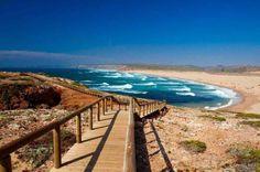 plus belles plages de l'algarve - plage de Bordeira - carrapateira