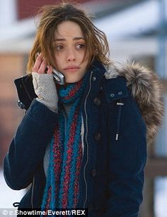 Emmy Rossum as Fiona Gallagher in Shameless US