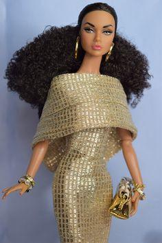 Beautiful Barbie Dolls, Pretty Dolls, Barbies Pics, Barbie World, Barbie Life, Diva Dolls, African American Dolls, Poppy Parker, Real Doll