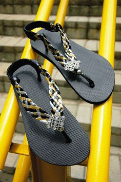 15 DIY flip flop ideas – How to decorate your summer sandals