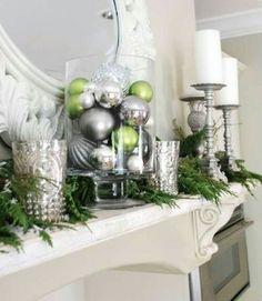 Great mantel decorations
