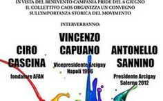 Verso il Pride di Benevento con il CAOS di Caserta In vista del Benevento Pride del prossimo 6 giugno, il CAOS di Caserta (Collettivo Antifascista Omosessuale) organizza un incontro dedicato alla storia del movimento lgbt sia nazionale che internazio #caserta #benevento #pride #lgbt
