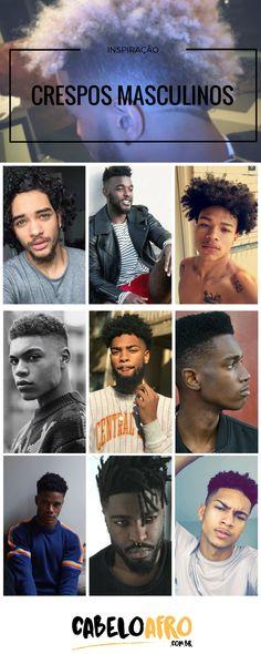 Cabelo crespo masculino: cuidados, melhores produtos e dicas de cortesCabelo Afro Blog | Cabelo Afro Blog