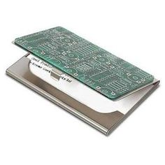 1. Circuit Board Business Card Case