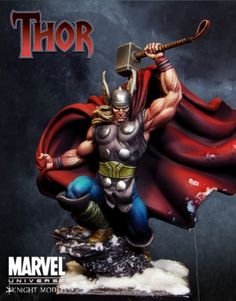 Thor Statue, Noice !