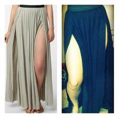 sew jayne: double slit maxi http://www.sewjayne.com/2012/12/double-slit-maxi-skirt.html