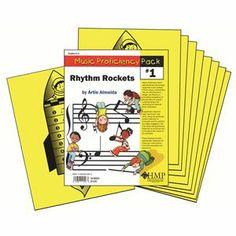 Music Proficiency Pack 1 Rhythm Rockets ( 550043), M, B & R Music Classroom Books & Materials General Music Classroom
